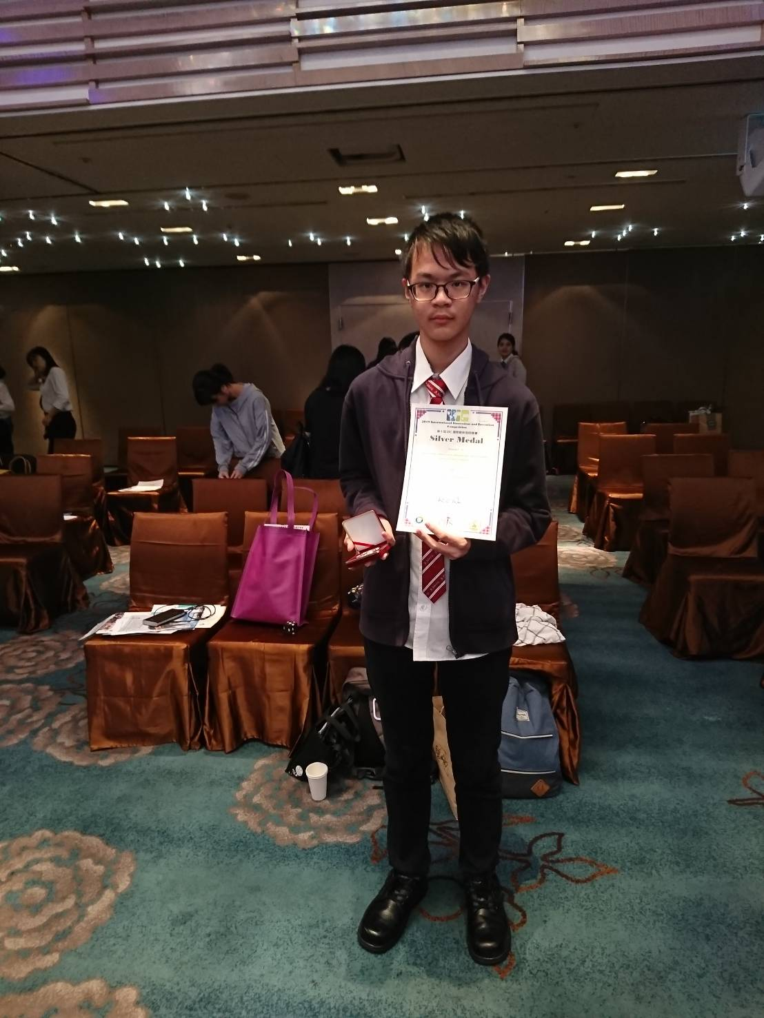 「第十屆IIIC國際創新發明競賽」銀牌獎-2