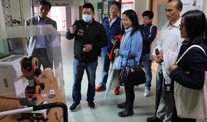歡迎~台北市新住民教育輔導團~蒞臨工業管理系參訪!!