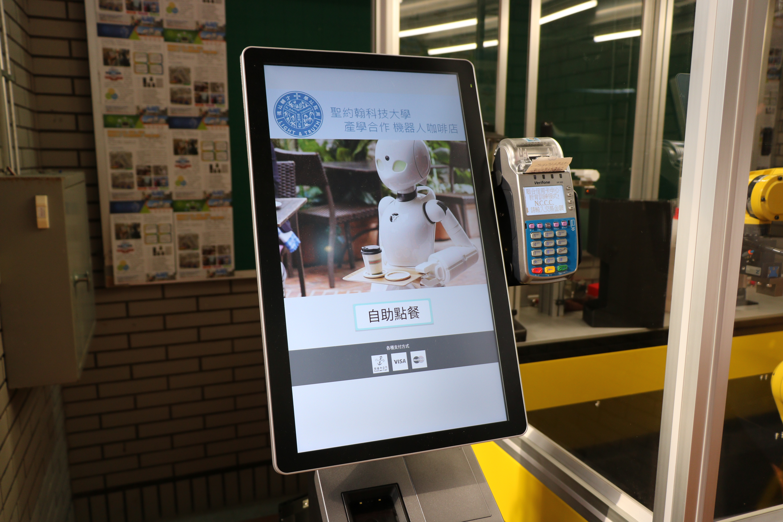 聖約翰科大機器手臂咖啡店正式啟用,研發專利展現學生學習成果!-6